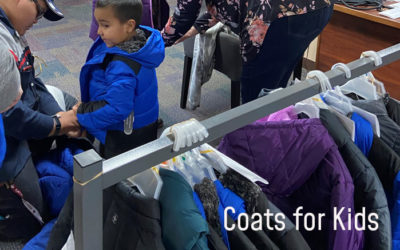 Cape Fox Corporation Supports Coats for Kids