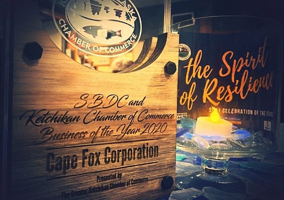 Cape Fox Corporation Starts the Year with a Big Win!