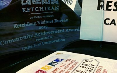 Cape Fox Corporation Wins Community Service Award