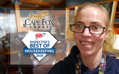 Cape Fox Lodge Recognized by AAA for Best of Housekeeping 2020