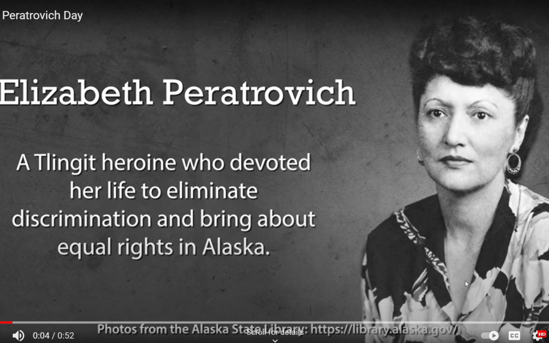 Cape Fox Honors Tlingit Heroine Elizabeth Peratrovich, an Early Champion for Human Rights