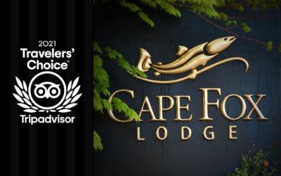 Cape Fox Lodge is a 2021 Travelers' Choice Award Winner from TripAdvisor